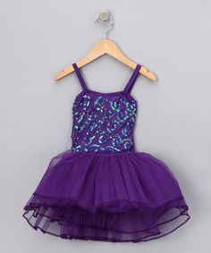 Take a look at this Purple Stella Luna Dress - Girls by Fairy Dreams on #zulily today!