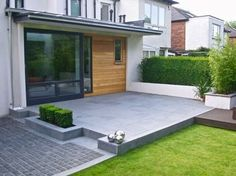 Perfect garden design - your garden becomes a little paradise! Contemporary City Garden – NEW (Garden Step) Home And Garden, Garden Spaces, Patio Design, Modern Garden, Back Garden Design