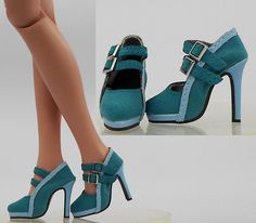 "Sherry Fashion Shoes Pumps Antoinette Ellowyne Wilde 16"" Tonner Doll (91-ES-27"