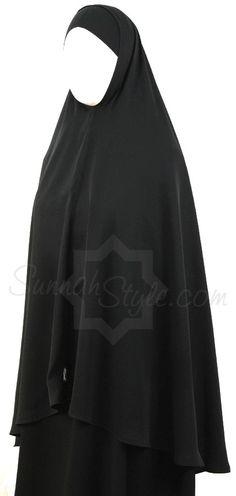Hip Length Khimar by Sunnah Style #SunnahStyle #khimar #hijabstyle