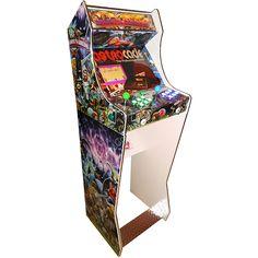 Ghosts'n Goblins arcade bartop on pedestal