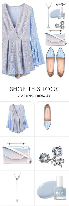"""""""Blue Mode"""" by deeyanago ❤ liked on Polyvore featuring Mollini and M2Malletier"""