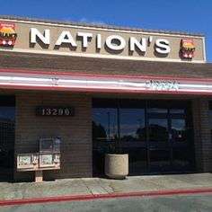 10. Nation's Giant Hamburgers - Bay Area Locations and now in Folsom!