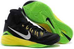 Hyperdunk Black Yellow Green White Mens Cheap