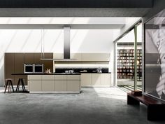 Snaidero USA brings the craftsmanship and design of luxury modern Italian kitchens - including the Idea modern kitchen – to North and Central America. Contemporary Interior Design, Modern Design, Küchen Design, House Design, European Kitchens, Luxury Kitchen Design, Kitchen Cabinetry, Kitchen Interior, Interior Decorating
