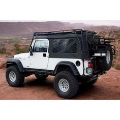 GOBI USA® Stealth Roof Rack System for 04-06 Jeep® Wrangler TJ Unlimited
