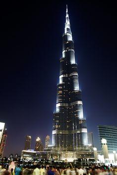 """Burj Khalifa"". Dubai, United Arab Emirates."