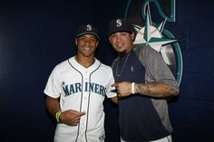 First pitch - Seahawks QB Russell Wilson to his friend Mariners pitcher Felix Hernandez, Friday, June 7, 2013
