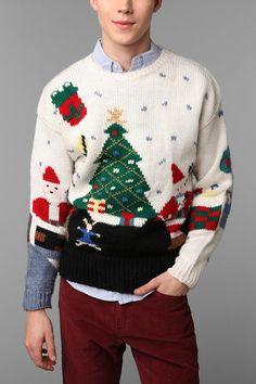 ef341c77ad3 Urban Renewal Vintage Ugly Holiday Sweater