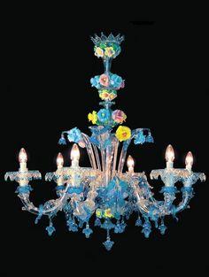 Murano Glass Chandelier #513
