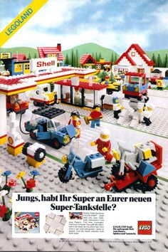 Lego Tankstelle (1983)
