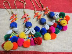 Your place to buy and sell all things handmade Rakhi Design, Orange Handbag, Crochet Ball, Tassel Purse, Paper Flowers Diy, Leather Handle, Purses And Handbags, Tassels, Sewing Projects