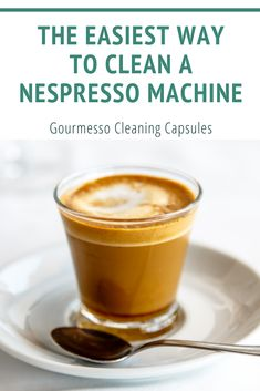 Why use a cleaning capsule? Capsules remove bitter coffee oil residue from the brew chamber, exit spout, and nozzle. When this bitter residue is allowed to remain, it can actually alter the taste of the coffee. Learn More: read on the blog.  Clean Nespresso Machine | Easy way to clean Nepresso Machine | How to Clean a Nespresso Machine | Coffee Capsules | Gourmesso | Coffee at Home | Clean Coffee | Espresso machine cleaner | Espresso How To Make, Espresso At Home, How To Make Ice Coffee, Espresso Recipes, Espresso Drinks, Coffee Recipes, Espresso Maker, Drink Recipes, Espresso Machine Cleaner