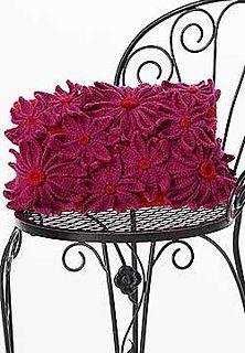 Petal pillow... Free crochet pattern!!