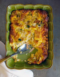 I've made this recipe several times with all different combinations of vegetables and cheeses.  It's always delicious, and a great way to use up even rock-hard stale bread.