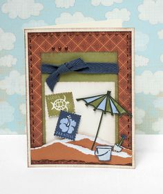 Summer card idea from #CTMH.