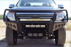 ADD 2011 - 2016 Ford Ranger Rancher Front Bumper With Stealth Panels And Winch And Light Mounts Ford Ranger Wildtrak, Desert Design, Cummins, Truck, Trucks