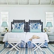 Beach bedroom!