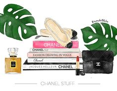 """Check out new work on my @Behance portfolio: """"Coco Chanel Stuff Collection - Digital Watercolor"""" http://be.net/gallery/58032437/Coco-Chanel-Stuff-Collection-Digital-Watercolor"""