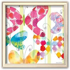 Art.com Butterfly Square I Framed Art Print by Maria Carluccio ($100) ❤ liked on Polyvore featuring home, home decor, wall art, coventry champagne, horizontal wall art, wooden home decor, white framed wall art, white wall art and square paintings