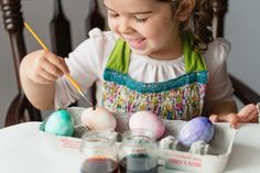 Genius roundup of 9 ways kids can decorate Easter eggs instead of dyeing them.