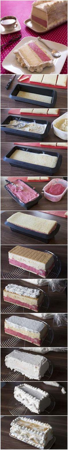 Omelette norvégienne vanille fraise – DIY