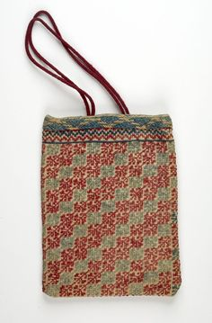 Tobacco Pouch Textile Greek , 19th century Creation Place: Crete, Greece Wool embroidery on cotton 17.46 x 13.02 cm (6 7/8 x 5 1/8 in.) Harvard Art Museums/Fogg Museum, Gift of Miss Frances Elizabeth Bowles , 1940.118