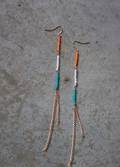 indian rain dance earrings