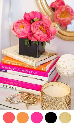 8 Color Inspiring Centerpiece Ideas - Bright + Beautiful