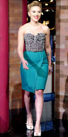 Look of the Day: December 15, 2011 - Scarlett Johansson : InStyle.com