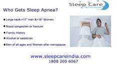 Who Gets Sleep Apnea ?