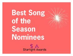 """Song of the Season Nominee"" by starlight-awards ❤ liked on Polyvore"