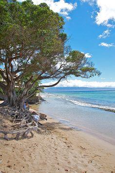 Honokowai Beach Park, Hawaii