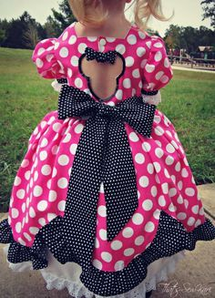 The perfect Minnie Mouse Dress! — Pattern Revolution