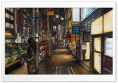 Urban Drawing HD Wide Wallpaper for Widescreen