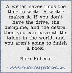 Words of wisdom from one of the most prolific writers ever. Must make some writing time!