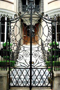 Wonka Gate by priscillagillham, via Flickr   ..rh