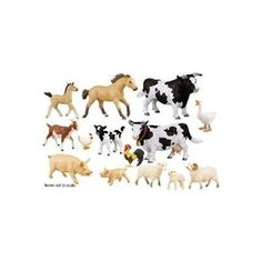 Animal Sets.  Good size for block play and good quality.  Safari has other sets of this size (ocean, farm...).