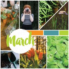 WE LOVE MARCH! Crisp weather, St. Patrick's Day, and we're all excited for the return of spring!