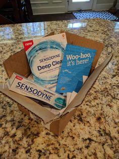 Sensodyne deep clean #sensethefresh #gotitfree #bzzagent