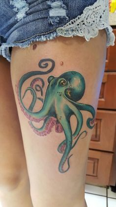 My octopus tattoo