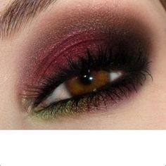 Ive actually done this look, and I loved it! great for girls with brown eyes like me!