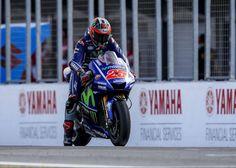 """MotoGP – Maverick Viñales: """" Demos um grande passo face ao primeiro dia de testes"""""""