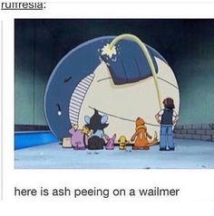 Crazy Pokemon anime moments  #wailmer #ashketchum #pokemon #jokes