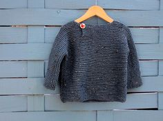 Side Flap sweater by gingergooseberry, via Flickr