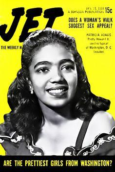 Are the Prettiest Girls in Washington, DC Like Patricia Adams - Jet Magazine, January 21, 1954