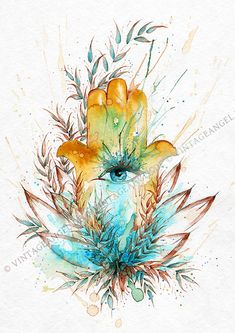 Hamsa Painting, Body Painting, Spiritual Drawings, Hamsa Art, Leo Tattoos, Hamsa Tattoo, Peace Art, Color Me Beautiful, Hand Of Fatima