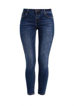 Джинсы Incity, цвет: синий. Артикул: IN002EWLKY34. Женская одежда / Джинсы / Узкие джинсы