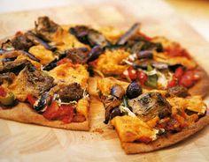 Vegan Artichoke Pizza