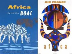 Safari Fusion blog | Africa vintage travel posters | Colourful African ...